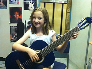 Guitar lessons for people of all ages and levels of ability
